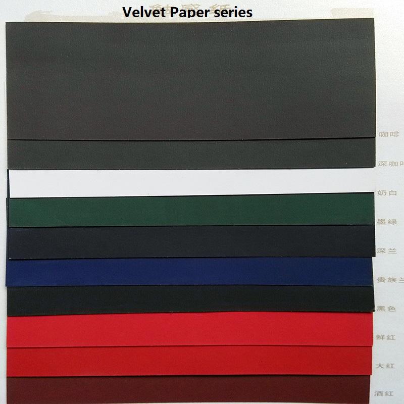Velvet Paper series for Quality Box